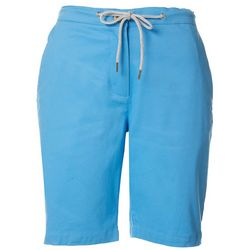 Womens Solid Skimmer Shorts