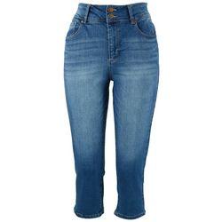 D. Jeans Capri Womens 21'' Buttlifter Capris