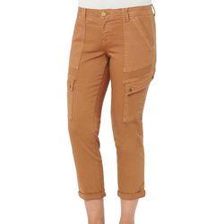 Democracy Womens Ab-solution Utility Capri Jeans