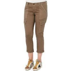 Democracy Womens Ab-solution Utility Pockets Capri Jeans