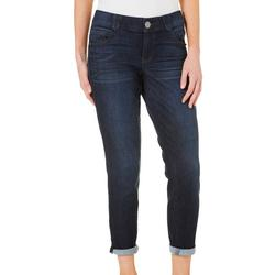 Womens Ab-solution Roll Cuff Denim Jeans
