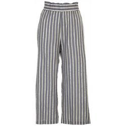 Zac and Rachel Womens Striped Printed Loose Pants