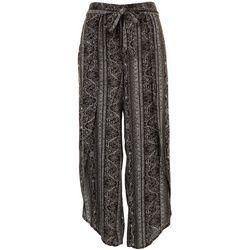 American Rag Womens Tie Waist Printed Pants