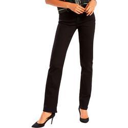 Womens Classic Straight Leg Denim Jeans