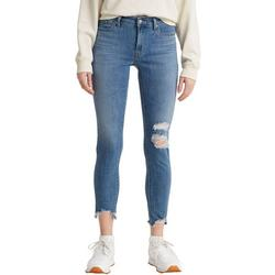 Womens 711 Skinny Destructed Ankle Jeans