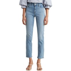 Levi's Womens Classic Mid-Rise Crop Jeans
