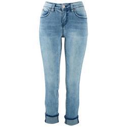 Women's  Mega Cuff Ankle Jeans