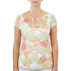 Hearts of Palm Womens Single Neck Ring Top