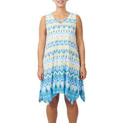 Hearts of Palm Womens Azure Dreaming Crisscross Dress