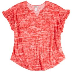 Ruby Rd Womens Burnout Sublima Top