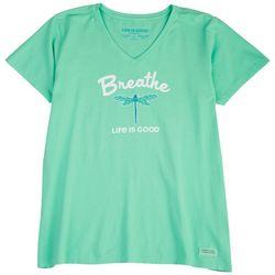 Life Is Good Womens Breathe T-Shirt