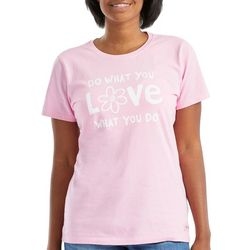 Life Is Good Womens Do What You Love T-Shirt