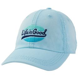 Life Is Good Womens Logo Design Baseball Hat