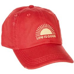 Life Is Good Womens Sun Logo Sunwashed Chill Cap