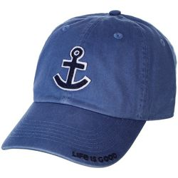 Life Is Good Unisex Anchor Embroidered Chill Cap