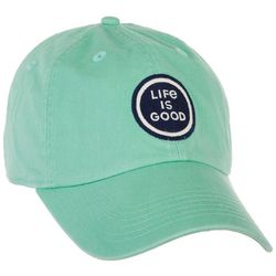 Life Is Good Womens Chill Coin Logo Cap