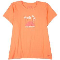 Life Is Good Womens Florida Ride T-Shirt