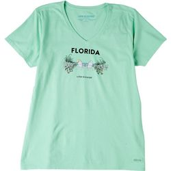 Life Is Good Womens  The View T-Shirt