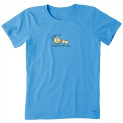 Life Is Good Womens Squeeze The Day T-Shirt