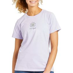 Life Is Good Womens Daisy T-Shirt