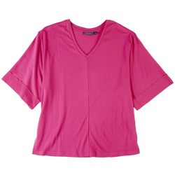 15 South Solid V Neck Tshirt
