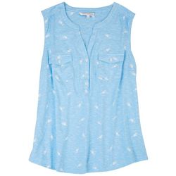 Emily Daniels Womens Cocktails Sleeveless Top