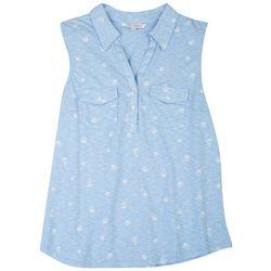 Emily Daniels Womens Shells Sleeveless Shirt