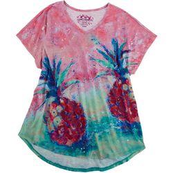 Leoma Lovegrove Womens Pineaple Bird T-Shirt
