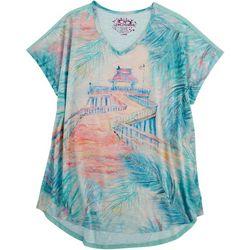 Leoma Lovegrove Womens Naples Pier T-Shirt