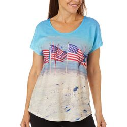 SunBay Womens Americana Beach Top