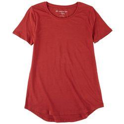 Como Vintage Womens Perfect Short Sleeve Top
