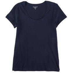 Nautica Cotton Solid Colored T-Shirt