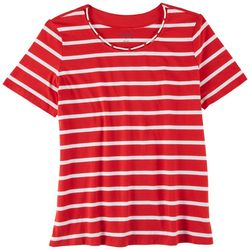 Coral Bay Womens Sailor Neck Rope Top