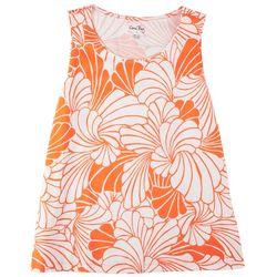 Coral Bay Women's Tropical Sleeveless Top