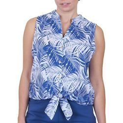Hearts of Palm Womens Tie Top