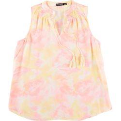 Cure Apparel Womens Tie-Dye Dream Sleeveless Top