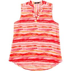 Cure Apparel Womens Watercolor Sleeveless Top