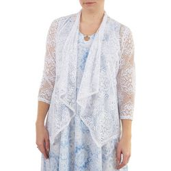 Hearts of Palm Womens Textured Cardigan