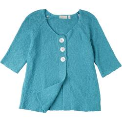 Womens Button Up Sweater