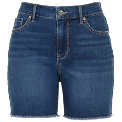 Gloria Vanderbilt Womens Generation Denim Slim Shorts