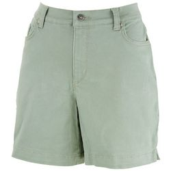 Gloria Vanderbilt Womens Amanda Slim Shorts