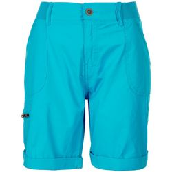 Fresh Womens Cargo Style Bermuda Shorts