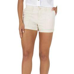 Gloria Vanderbilt Womens Solid Shorts