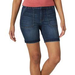 Lee Womens Roll Cuff Denim Shorts