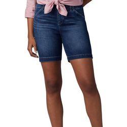 Lee Womens Solid Chino Bermuda Shorts