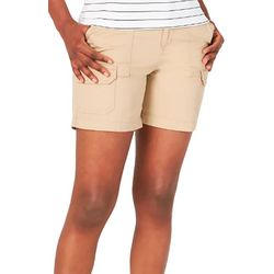 Lee Womens Solid Color Design Shorts