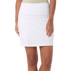 Teez-Her Womens Invisible Panel Solid Skort