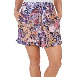 Ivy Road Womens Resort Paisley Shorts