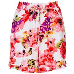 Ivy Road Womens Resort Floral Shorts