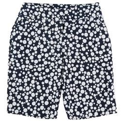 by DFA Womens Polka Dot Bermuda Shorts